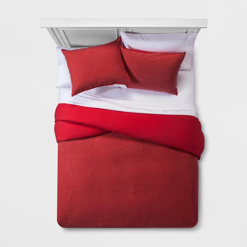 Egyszínű, mosható pamut ágynemű paplanhuzat