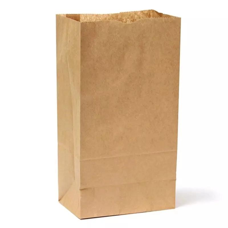 zsák papír élelmiszer papír zsák barna újrahasznosított luxus bevásárló szupermarket zsák papír