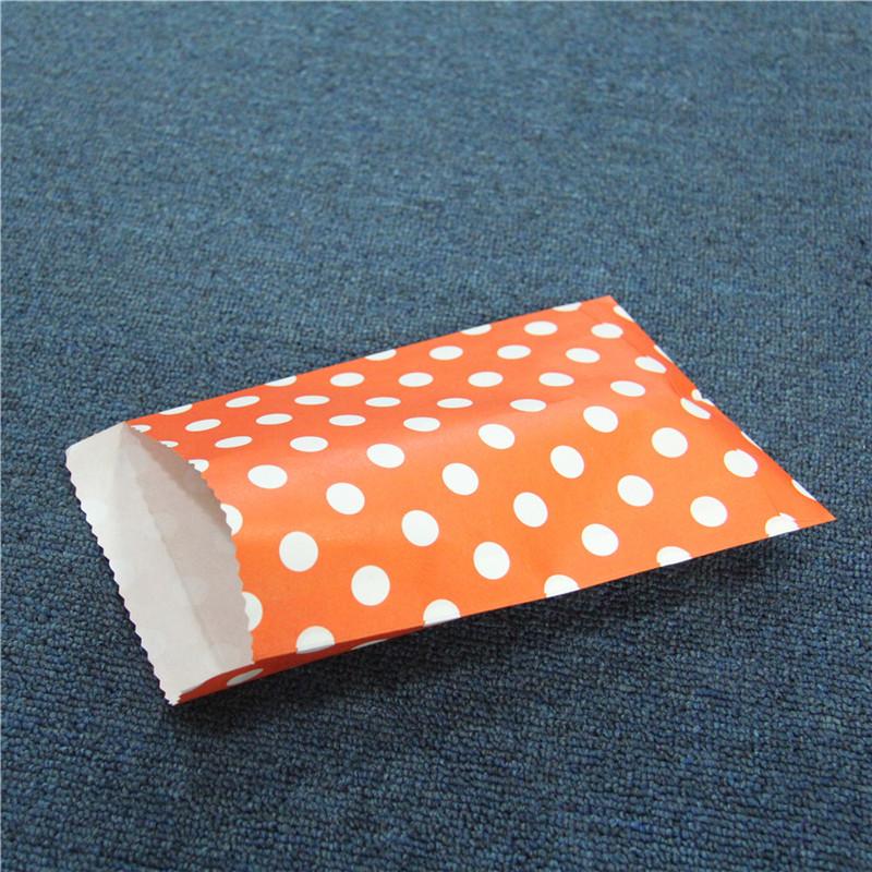 Kis papírzacskók csomagolása Party Gift Candy csomagolózsákok