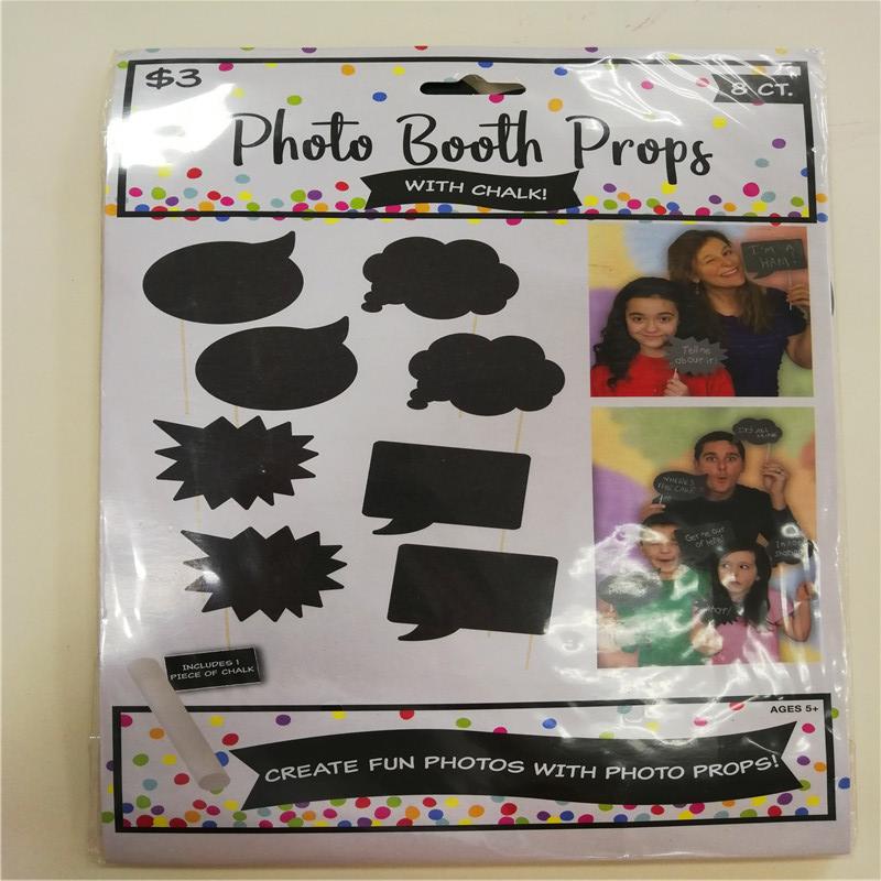 Dance Party Prom Favor Kits Photo booth kellékek krétával
