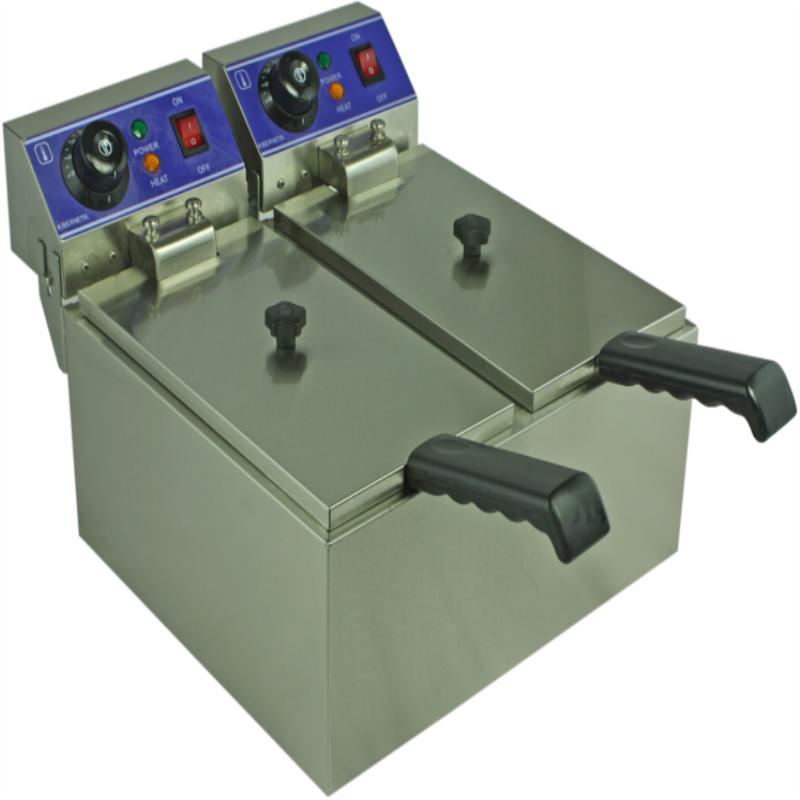 elektromos sütő két tartály