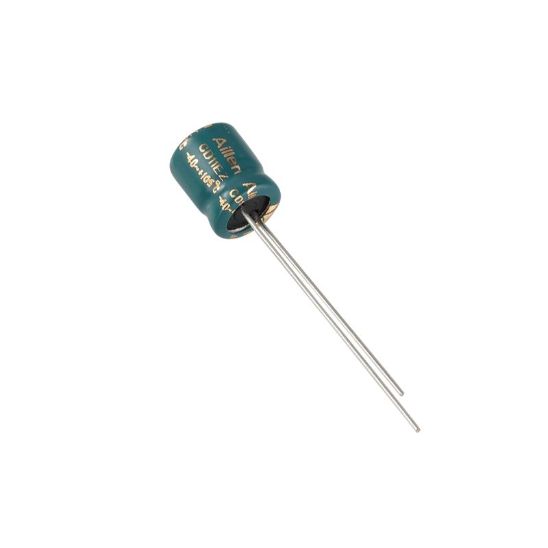 CD11EZ dugaszolható alumínium elektrolit kondenzátor