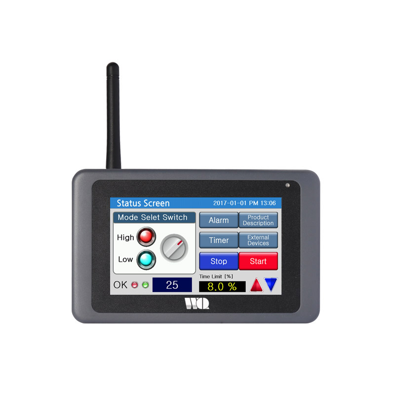 4,3 hüvelykes érintőképernyős ipari monitor WinCE ipari panel számítógép