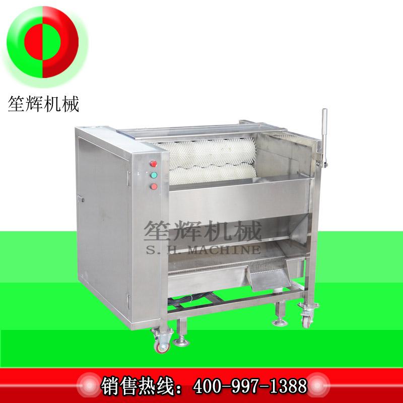 A gyümölcs- és zöldségkefe-gép bevezetése