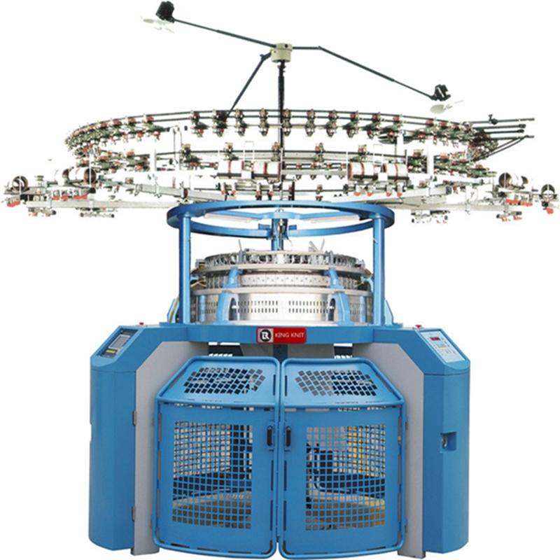 Egy mezes, nagy sebességű fukuhara körös kötőgép