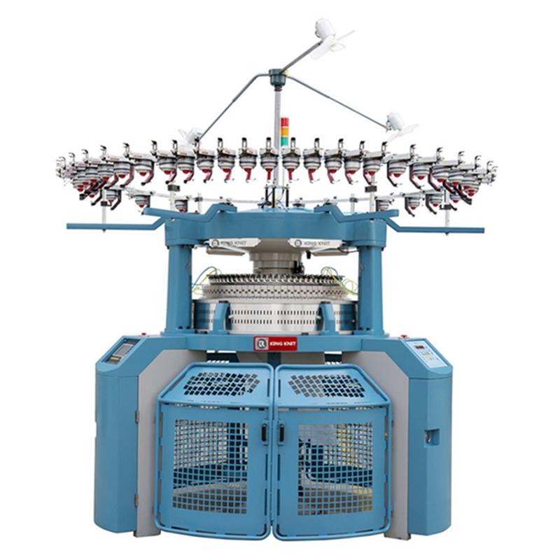 dupla mez jackquard 4 pálya körkörös kötőgép gyártó