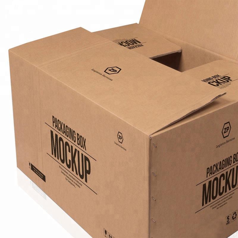 Forró eladás egyedi, nagy méretű, 5 rétegű logóval, márkás nyomtatott nátronpapír-szállítmány-szállítással, nagy kartondobozban