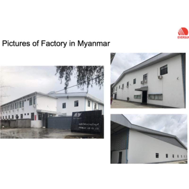 Teljesen Mianmar gyár tulajdonosa