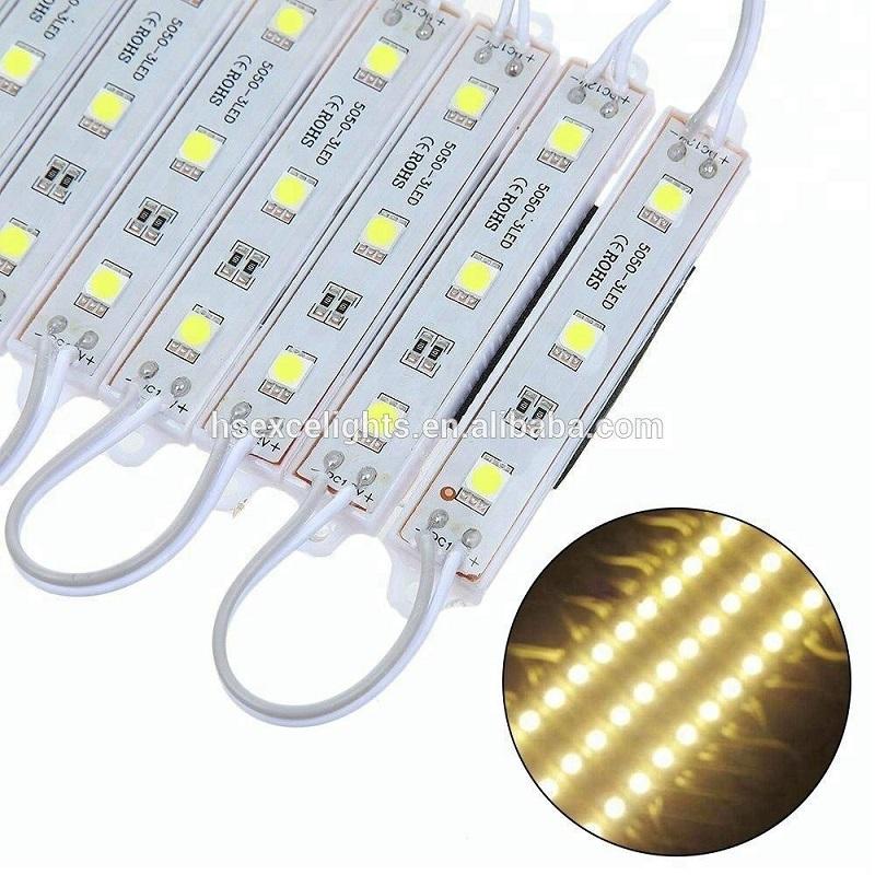 CE.RoHS jóváhagyás DC12V 5050 vízálló LED modul